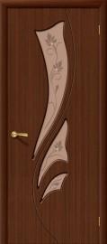 """Межкомнатная дверь """"Эксклюзив"""", по, шоколад"""