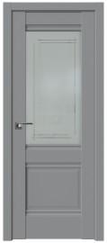 Фото -   Межкомнатная дверь 2U, манхэттен   | фото в интерьере