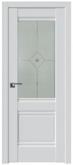 Фото -   Межкомнатная дверь 2U, аляска   | фото в интерьере