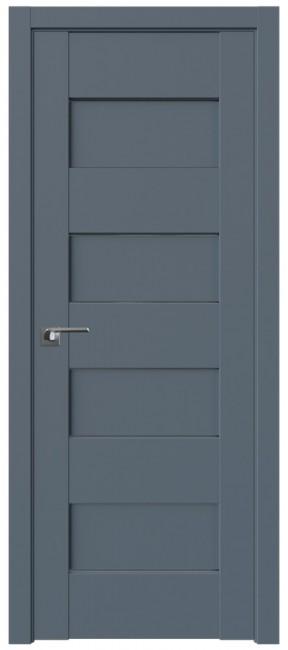 Фото -   Межкомнатная дверь 45U, антрацит   | фото в интерьере