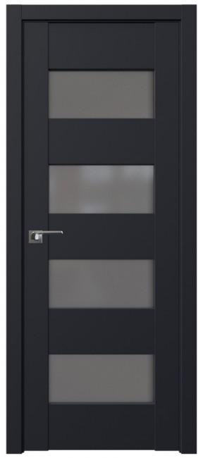 Межкомнатная дверь 46U, черный матовый