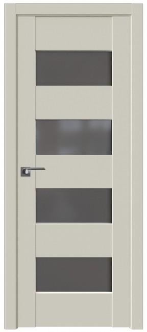 Фото -   Межкомнатная дверь 46U, магнолия сатинат   | фото в интерьере