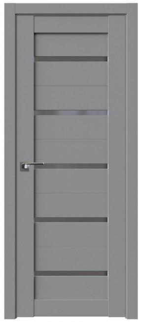 Фото -   Межкомнатная дверь 7U, манхеттен   | фото в интерьере