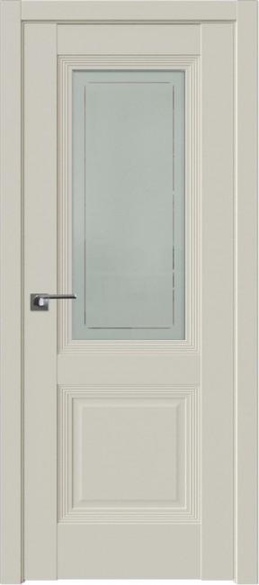 Фото -   Межкомнатная дверь 81U, магнолия сатинат   | фото в интерьере