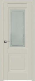 Фото -   Межкомнатная дверь 81U, магнолия сатинат     фото в интерьере