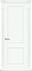 """Межкомнатная дверь """"Венеция 1"""", пг, белая эмаль"""