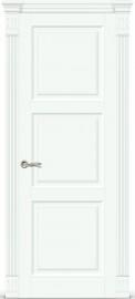 """Межкомнатная дверь """"Венеция 3"""", пг, белая эмаль"""