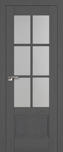 """Межкомнатная дверь """"103х"""", по, пекан темный"""