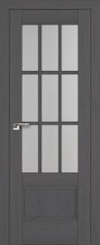 """Межкомнатная дверь """"104х"""", по, пекан темный"""