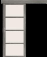 Фото -   Дверь-купе Твигги V4 Grey Veralinga     фото в интерьере