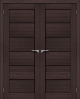 Фото -   Двойная распашная дверь Порта-22 BS Wenge Veralinga     фото в интерьере