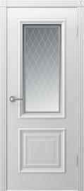 """Межкомнатная дверь """"Акцент"""", по, белый"""