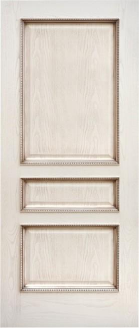 """Фото -   Межкомнатная дверь """"Альба"""", пг, ясень карамельный с патиной     фото в интерьере"""