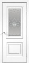 """Межкомнатная дверь """"ALTO 7"""", по, ясень белый структурный."""