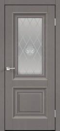 """Фото -   Межкомнатная дверь """"ALTO 7"""", по, ясень грей структурный.     фото в интерьере"""