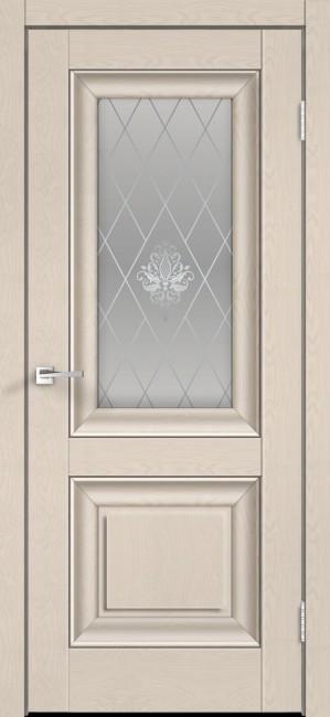 """Фото -   Межкомнатная дверь """"ALTO 7"""", по, ясень капучино структурный.     фото в интерьере"""