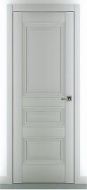 "Межкомнатная дверь ""Ампир В2"", пг, серый матовый"