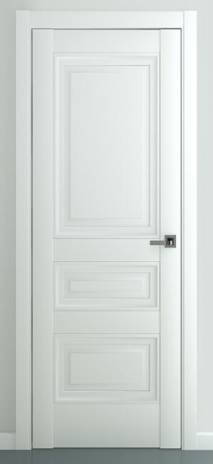 "Межкомнатная дверь ""Ампир В2"", пг, белый"
