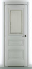 "Межкомнатная дверь ""Ампир В2"", по, серый матовый"