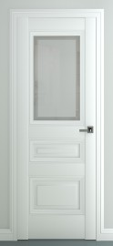 """Межкомнатная дверь """"Ампир В3"""", по, белый"""