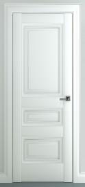 "Межкомнатная дверь ""Ампир В1"", пг, белый"