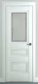 """Межкомнатная дверь """"Ампир В1"""", по, белый"""