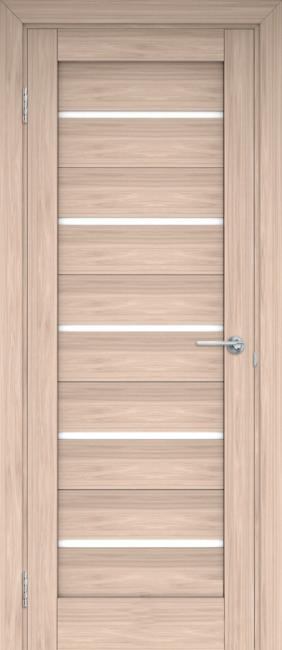 """Фото -   Межкомнатная дверь """"Анкона"""", по, капучино     фото в интерьере"""