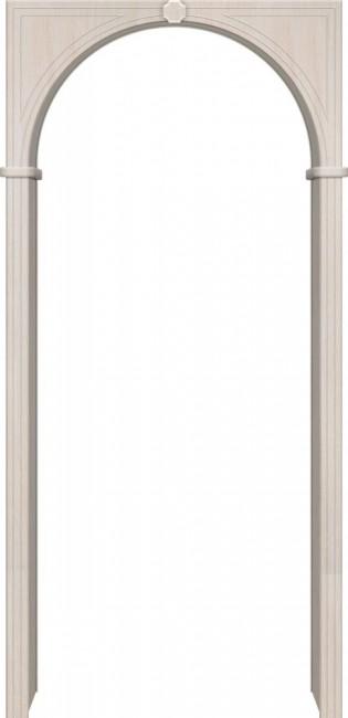 Фото -   Арка Универсальная, беленный дуб   | фото в интерьере
