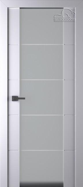 "Межкомнатная дверь ""Арвика 202"", по, белая"
