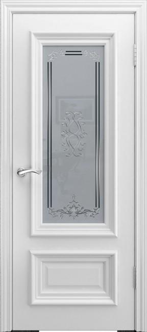 "Межкомнатная дверь ""B-1"", по, белый"
