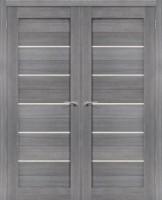 Фото -   Двойная распашная дверь Порта-22 Grey Veralinga     фото в интерьере