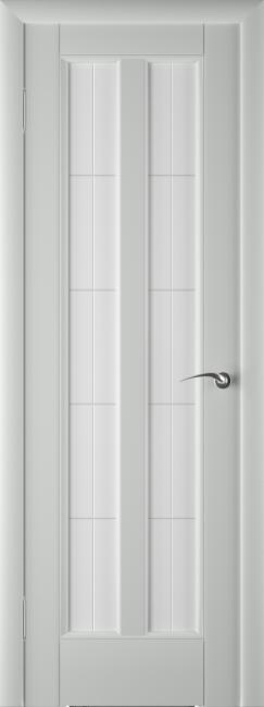 Фото -   Межкомнатная дверь ПО Премьер Грей Эмаль   | фото в интерьере