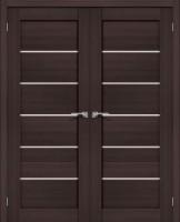 Фото -   Двойная распашная дверь Порта-22 Wenge Veralinga     фото в интерьере
