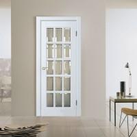 Двери массив белые