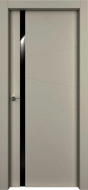 """Фото -   Межкомнатная дверь """"Берген"""", по, серый     фото в интерьере"""
