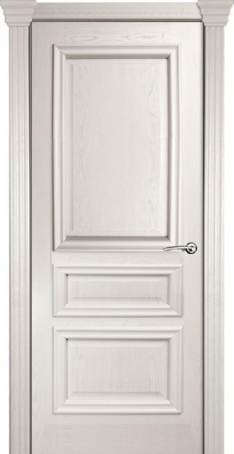 Фото -   Межкомнатная дверь Мильяна Бристоль Сити, пг, ясень жемчуг   | фото в интерьере