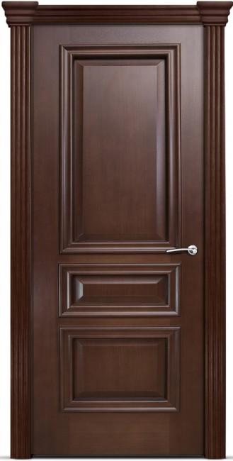 Фото -   Межкомнатная дверь Мильяна Бристоль Сити, пг, итальянский орех   | фото в интерьере