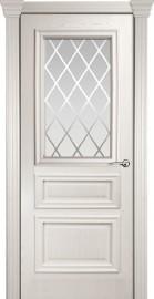 Межкомнатная дверь Мильяна Бристоль Сити, по, ясень жемчуг