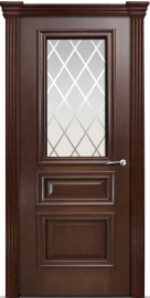 Межкомнатная дверь Мильяна Бристоль Сити, по, итальянский орех