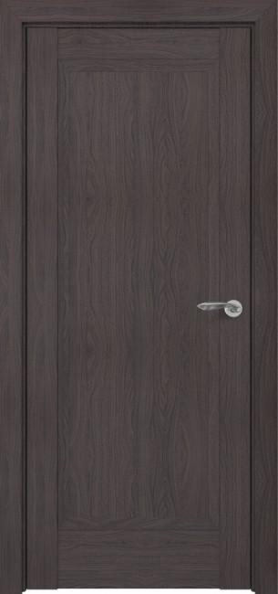 Фото -   Межкомнатная дверь Zadoor ПГ Неаполь тип-N пекан темно-коричневый   | фото в интерьере