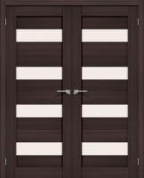 Фото -   Двойная распашная дверь Порта-23 Wenge Veralinga     фото в интерьере