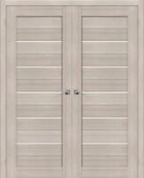 Фото -   Двойная распашная дверь Порта-22 Cappuccino Veralinga     фото в интерьере