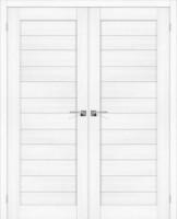 Фото -   Двойная распашная дверь Порта-22 Snow Veralinga     фото в интерьере