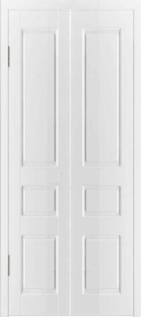 "Складная дверь ""Честер"", пг, белый"