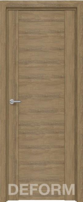 Фото -   Межкомнатная дверь Deform D10 дуб шале натуральный, ПГ   | фото в интерьере