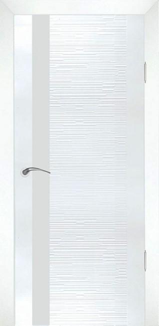 "Межкомнатная дверь ""Д4 техно"", по, белый"