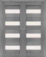 Фото -   Двойная распашная дверь Порта-23 Grey Veralinga     фото в интерьере