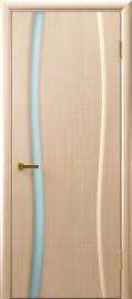 """Межкомнатная дверь """"Клеопатра 1"""", по, беленый дуб"""