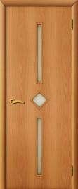 """Межкомнатная дверь """"Диадема"""", по, миланский орех"""