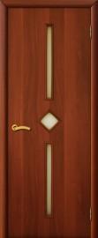 """Межкомнатная дверь """"Диадема"""", по, итальянский орех"""